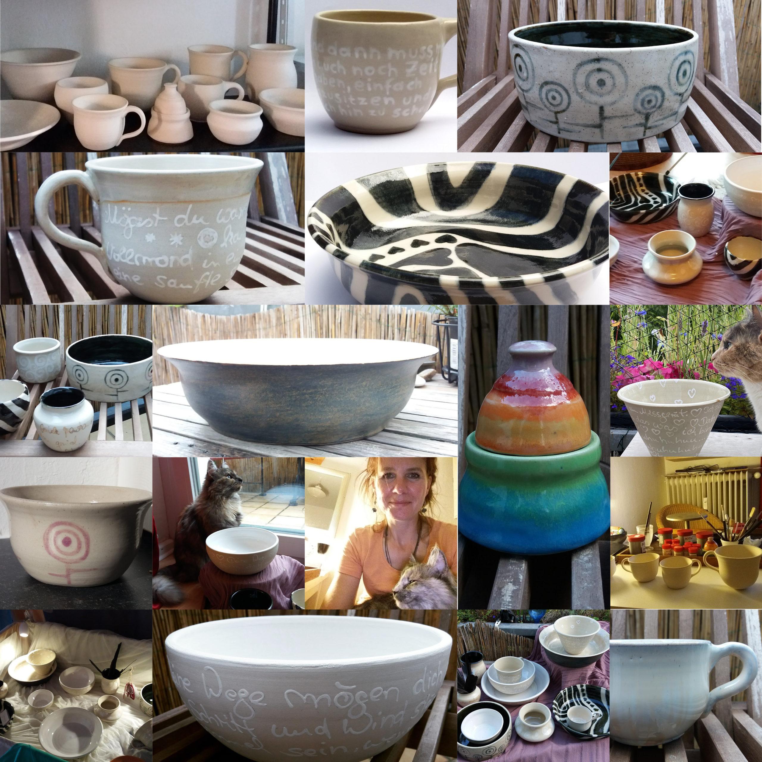 Keramik Beispiele 2016 Tamara Stadler