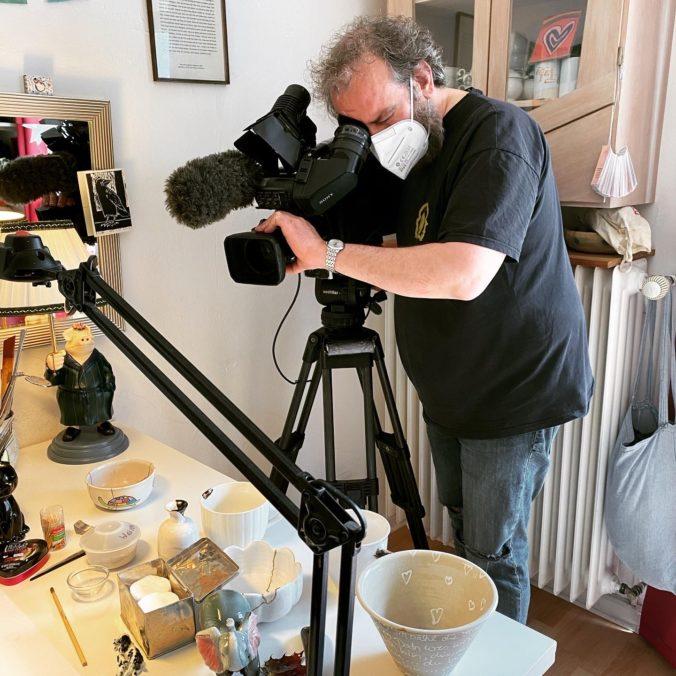 kintsugi-i-see Tamara Stadler im Filmbeitrag ARD-2021 Kamera Rimpl