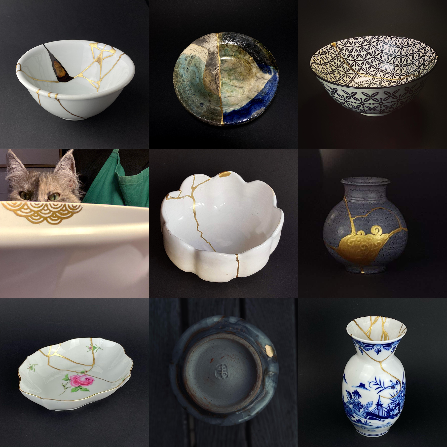 9 Kintsugi Arbeiten Beispiele Atelier kintsugi-i-see